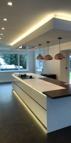 phillips under cabinet lighting Lovely Suspended box and Philips hue lighting Housing Design