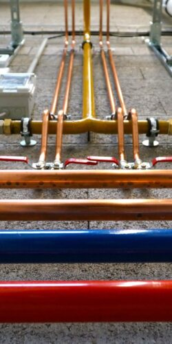gas water pipes
